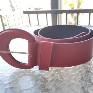 Red Torrid belt